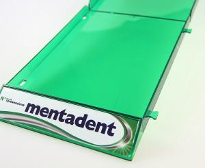 shelf tray per dentifricio