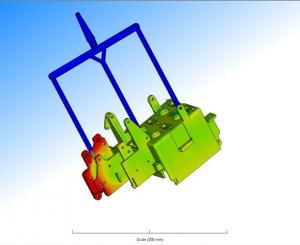 simulazione di riempimento mold flow